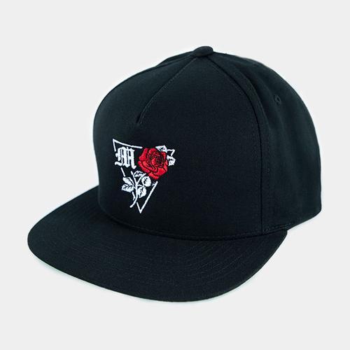 Rose Snapback Hat