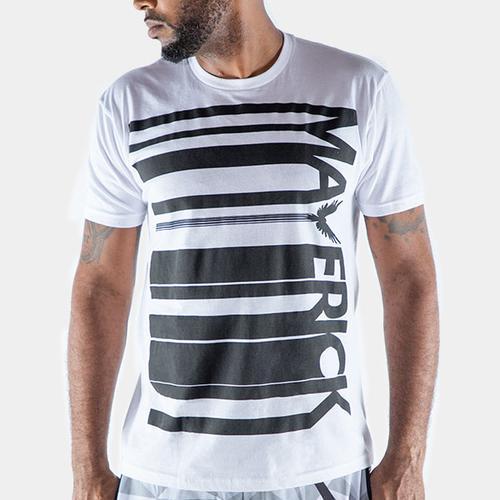Maverick Black Barcode Shirt