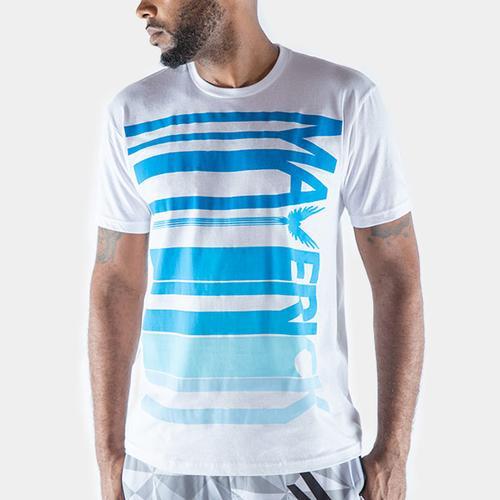 Maverick Blue Barcode Shirt