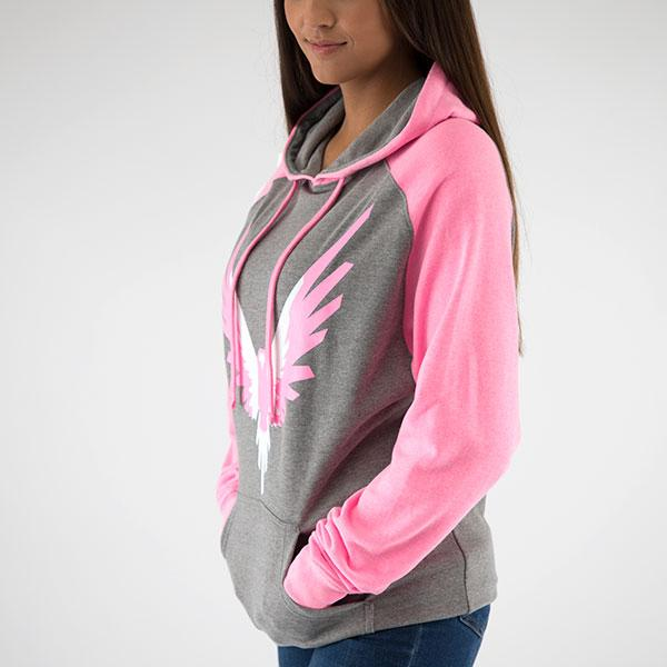 Maverick Pink 2-Tone Hoodie