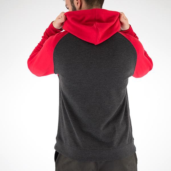 Maverick Red 2-Tone Hoodie